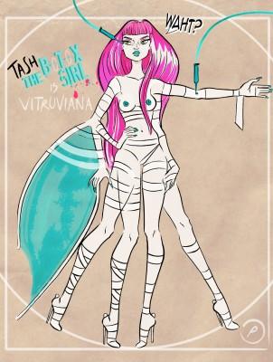 Tash is Vitruviana!