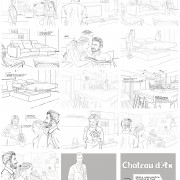 Storyboard for Chateau D'Ax