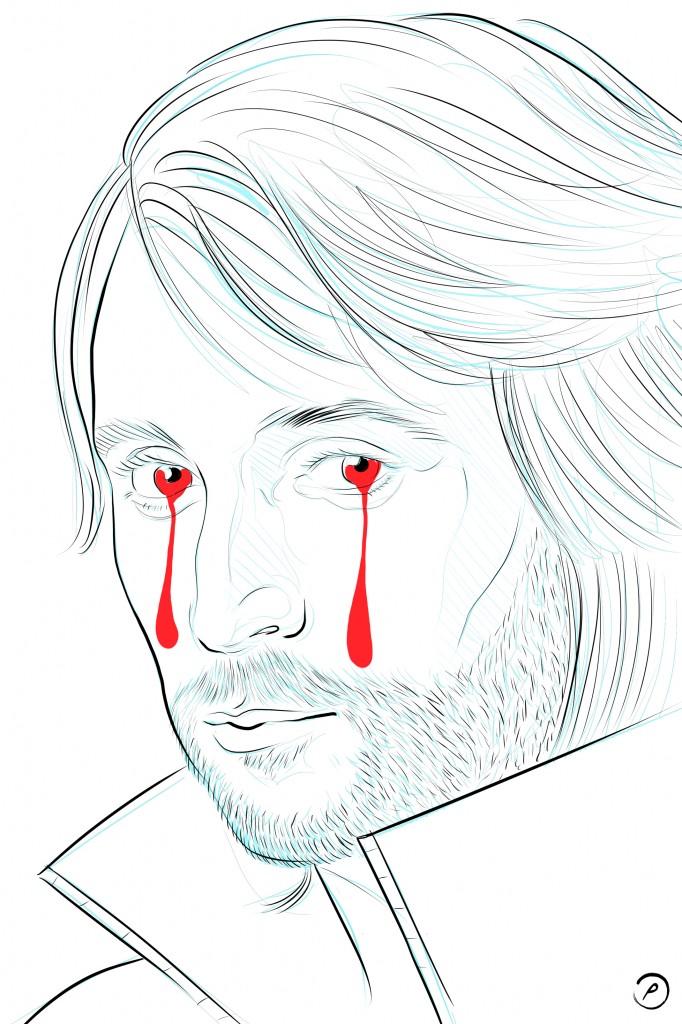 """take my tears"" for Francesco Vezzoli"