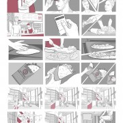 storyboard for Mediaset